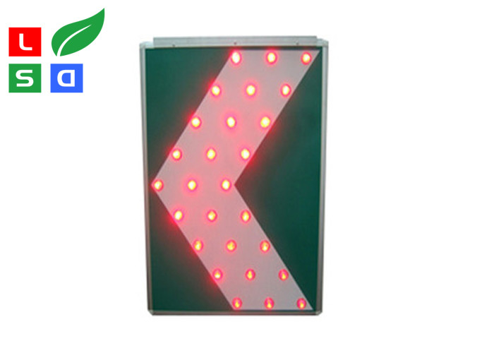 Portable LED Solar Powered Signs Custom Made View Distance >800m For Public